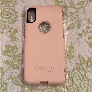 Otterbox Light Pink IPhone X case